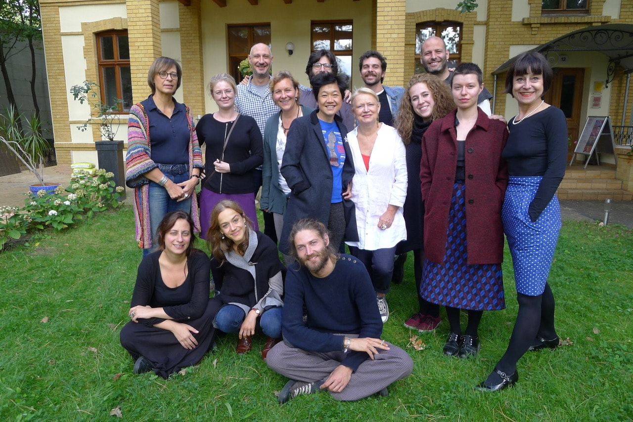 "Berlin Film Residencies – Workshop ""The Art of Negotiation in the Film Business"" with Renate Roginas, Petra Padberg, the 2015 participants and the NIPKOW team at Villa Kult, Berlin"