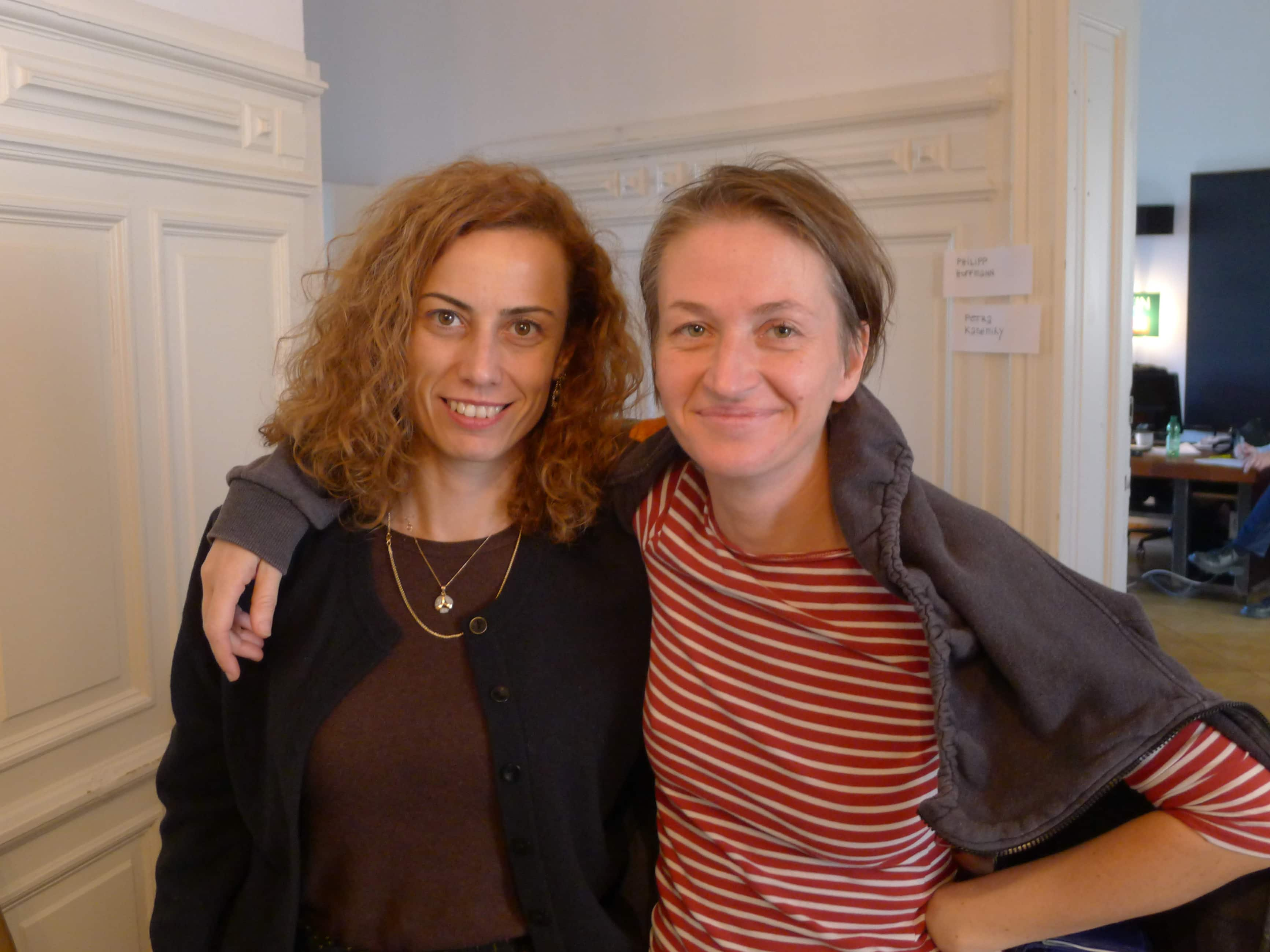 Berlin Film Residencies – BERLIN AiR fellow Zeynep Dadak meets NIPKOW fellow Petra Seliškar