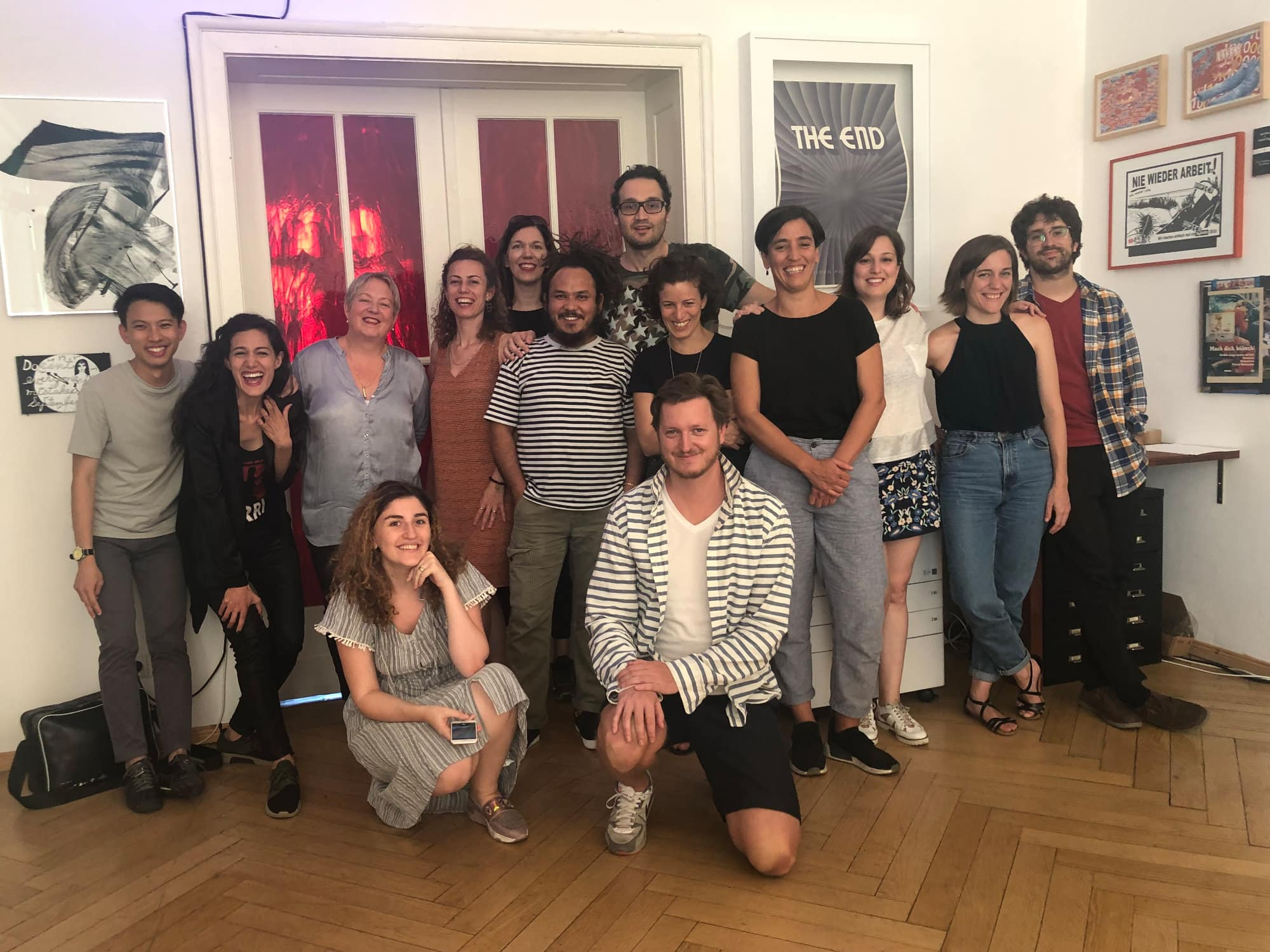 "Berlin Film Residencies – Workshop ""My Script, my Character"" with Petra Kashmiry and the 2018 BERLIN AiR and NIPKOW participants"